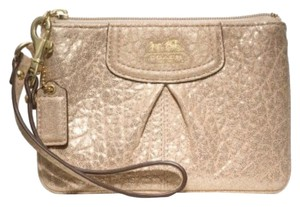 Coach Coach Madison emb leather small wristlet 47191
