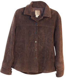 Ami Suede Leather Jacket
