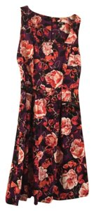 Apt. 9 short dress Multi colored floral on Tradesy