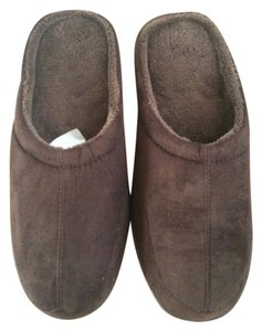 Stafford dark brown Flats