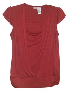 No Boundaries Top Maroon