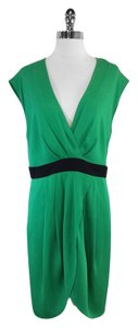 Catherine Malandrino short dress Green Silk Sleeveless on Tradesy
