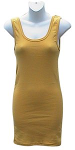 Other short dress Yellow Brnad New W/o Tag Bodycon Mini on Tradesy