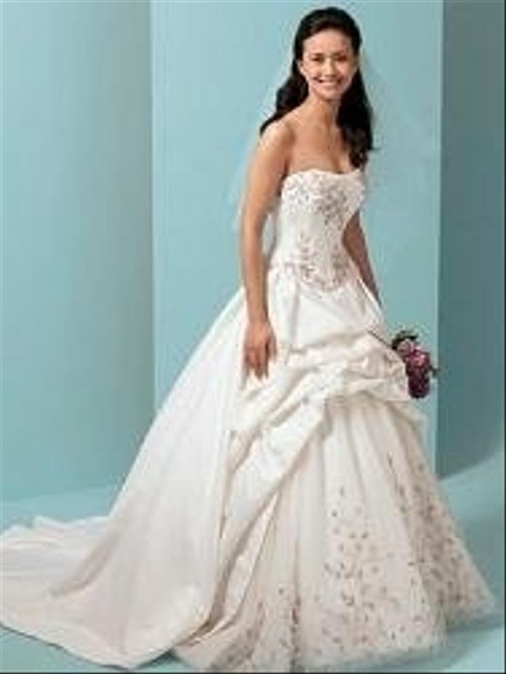 Alfred angelo 1648 wedding dress tradesy weddings for D angelo wedding dresses