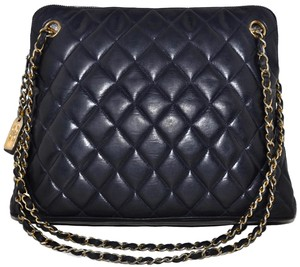 Chanel Paris Guaranteed Quilted Lambskin Lamb Lamb Skin Lambskin Leather High End Chic European Luxury Designer Designer Shoulder Bag