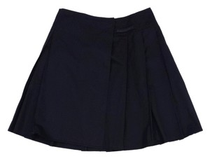Prada Black Pleated Skirt