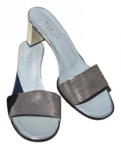 Gucci Nikel/pewter Pumps