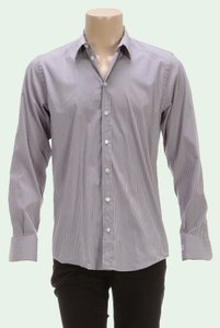 Dolce&Gabbana Button Down Shirt Gray