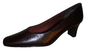 Nordstrom Leather dark brown Pumps