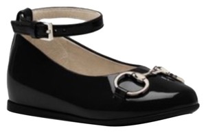 Gucci Black/Toddler Flats