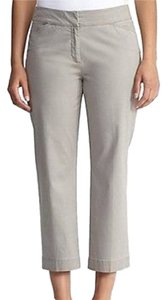 Eileen Fisher Cotton Crop Trouser Pants Capri/Cropped Denim-Light Wash