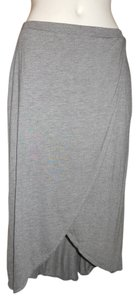 Gap Knit Maxi Skirt grey