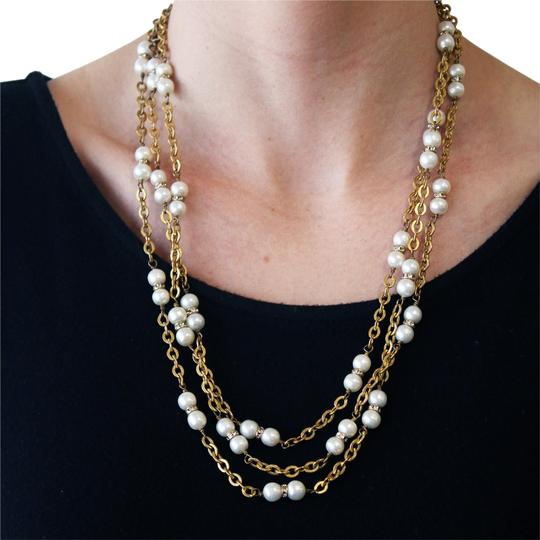 Preload https://item3.tradesy.com/images/chanel-yellow-vintage-1980-s-faux-pearl-and-crystal-rondelle-gold-plated-70-necklace-6003307-0-0.jpg?width=440&height=440