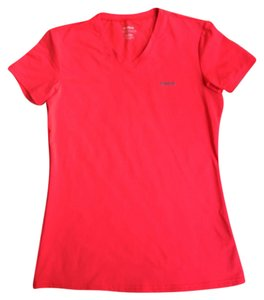 Reebok V-Neck Play Dry Fluorescent Top
