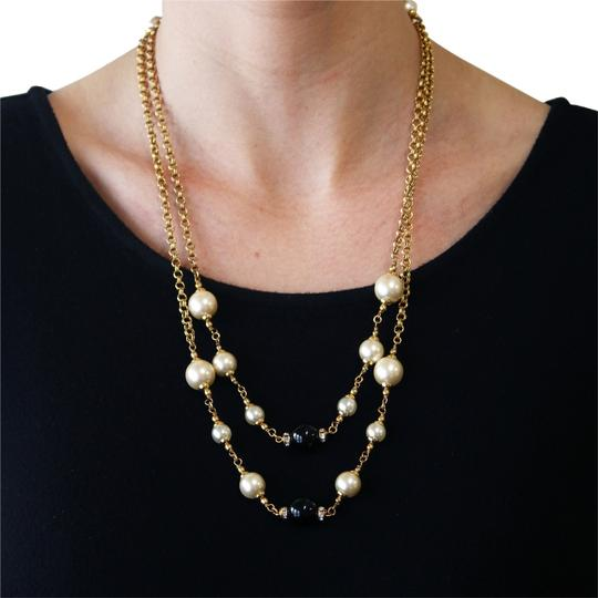 Preload https://item2.tradesy.com/images/chanel-vintage-1996-fall-collection-gold-plated-faux-pearl-and-black-beaded-crystal-48-necklace-6003556-0-0.jpg?width=440&height=440