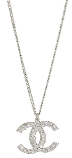 Preload https://item5.tradesy.com/images/chanel-vintage-2014-spring-collection-chanel-silver-plated-strass-crystal-logo-pendant-adjustable-18-26-necklace-6003649-0-0.jpg?width=440&height=440