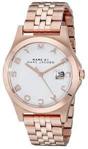 Marc Jacobs Marc by Marc Women's Rose Gold Analog Watch MBM3392