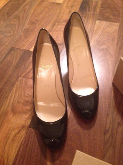 Christian Louboutin Black patent leather Formal