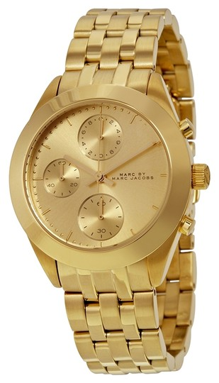 Marc Jacobs Marc by Marc Women's Gold Analog Watch MBM3393