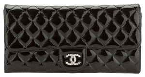 Chanel Chanel Black Patent WOC Wallet on Chain (Authentic Pre Owned)