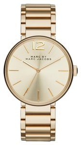 Marc Jacobs Marc by Marc Women's Gold Analog Watch MBM3401