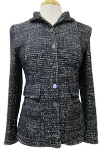 Chanel Couture Tweed Black, White Jacket