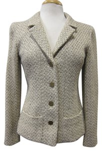 Chanel Tweed Tan, Beige Jacket