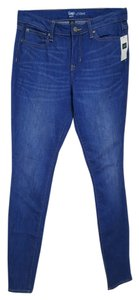 Gap Skinny Pants Bright Indigo