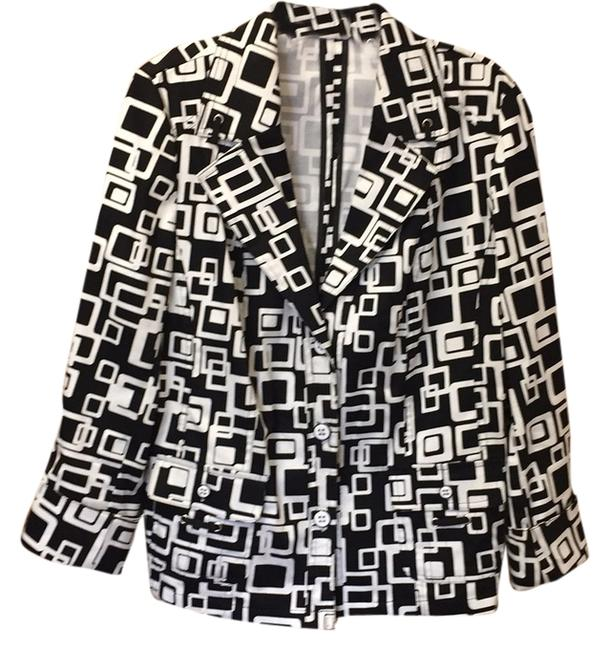 TanJay Black/ white Jacket