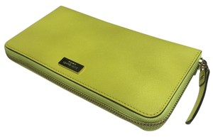 Kate Spade Neda Wallet Newbury Lane Yellow Clutch