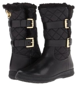 Michael by Michael Kors Black Boots