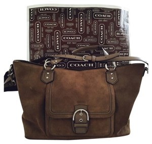 Coach Tote in Tan/Taupe