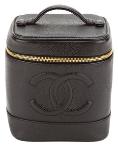 Chanel Chanel Black Caviar Cosmetic Case (Authentic Pre Owned)