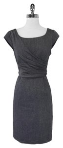 Kay Unger Draped Sheath Dress