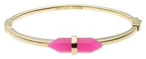 Michael Kors MKJ2662 Michael Kors Seaside Luxe bangle bracelet gold-tone pink agate
