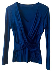 Tahari Top Blue