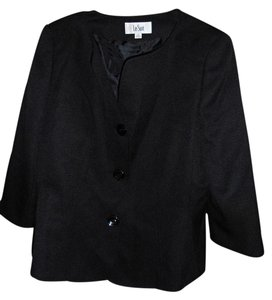 Le Suit Jacket Blazer Size 12 Top Back