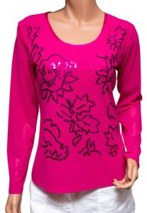 Apriori Sequined It50 Top Pink