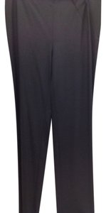 Emporio Armani Italian Wool Chic Trouser Pants Black