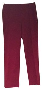 INC International Concepts Boot Cut Pants Cranberry