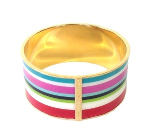 Kate Spade Kate Spade Beach Stripe Bangle Bracelet NWT Striped Cabanas & Beach