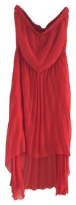Leo Meets Virgo short dress Red on Tradesy