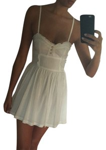 H&M short dress White on Tradesy