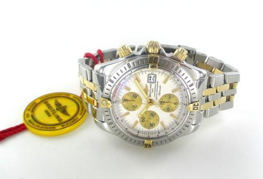 Breitling BREITLING WATCH WITH BOX AND PAPERS CHRONO B13356 STEEL & GOLD TWO TONE DATE MEN