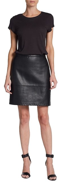 Preload https://item4.tradesy.com/images/french-connection-jet-faux-leather-skirt-black-6009883-0-0.jpg?width=400&height=650