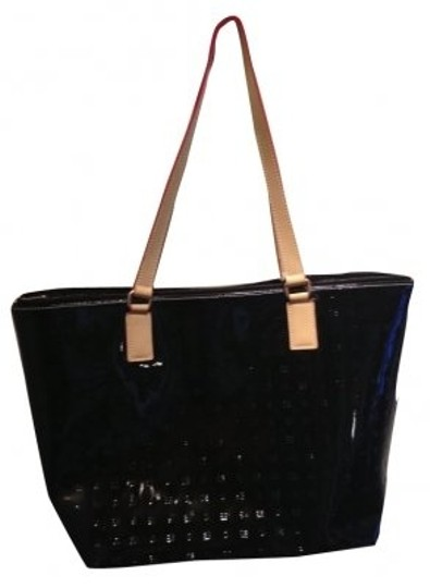 Preload https://item3.tradesy.com/images/arcadia-embossed-black-patent-leather-tote-6012-0-0.jpg?width=440&height=440