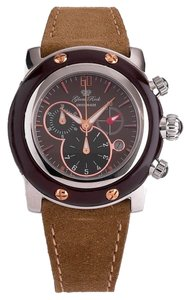 Glam Rock Glam Rock Women's Quartz Watch GR10138 with Leather Strap