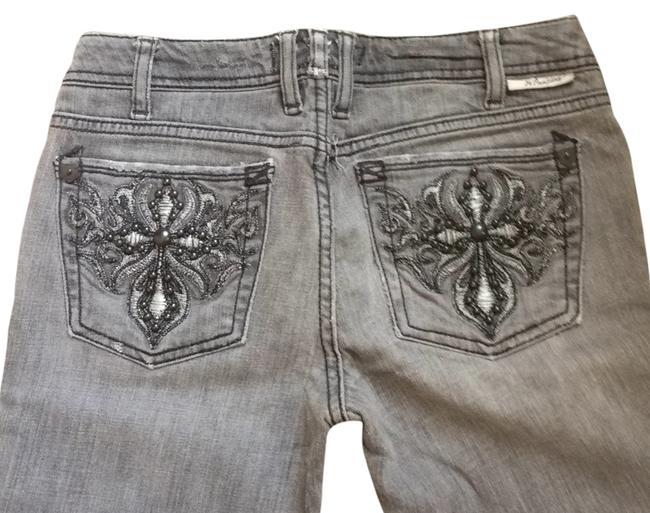 Preload https://item3.tradesy.com/images/j-and-co-jeans-grey-wash-with-gunmetal-studs-straight-leg-jeans-size-26-2-xs-6016987-0-0.jpg?width=400&height=650