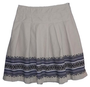 Ann Taylor LOFT Machine Washable Skirt tan