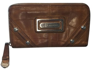 B. Makowsky Tan Clutch